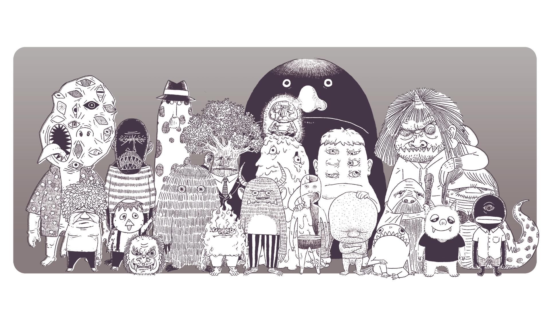 イラストレーター・横山次郎のホームページ